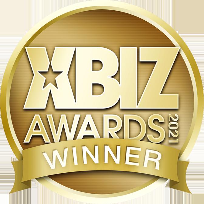 XBiz Awards 2021 Winner Medallion
