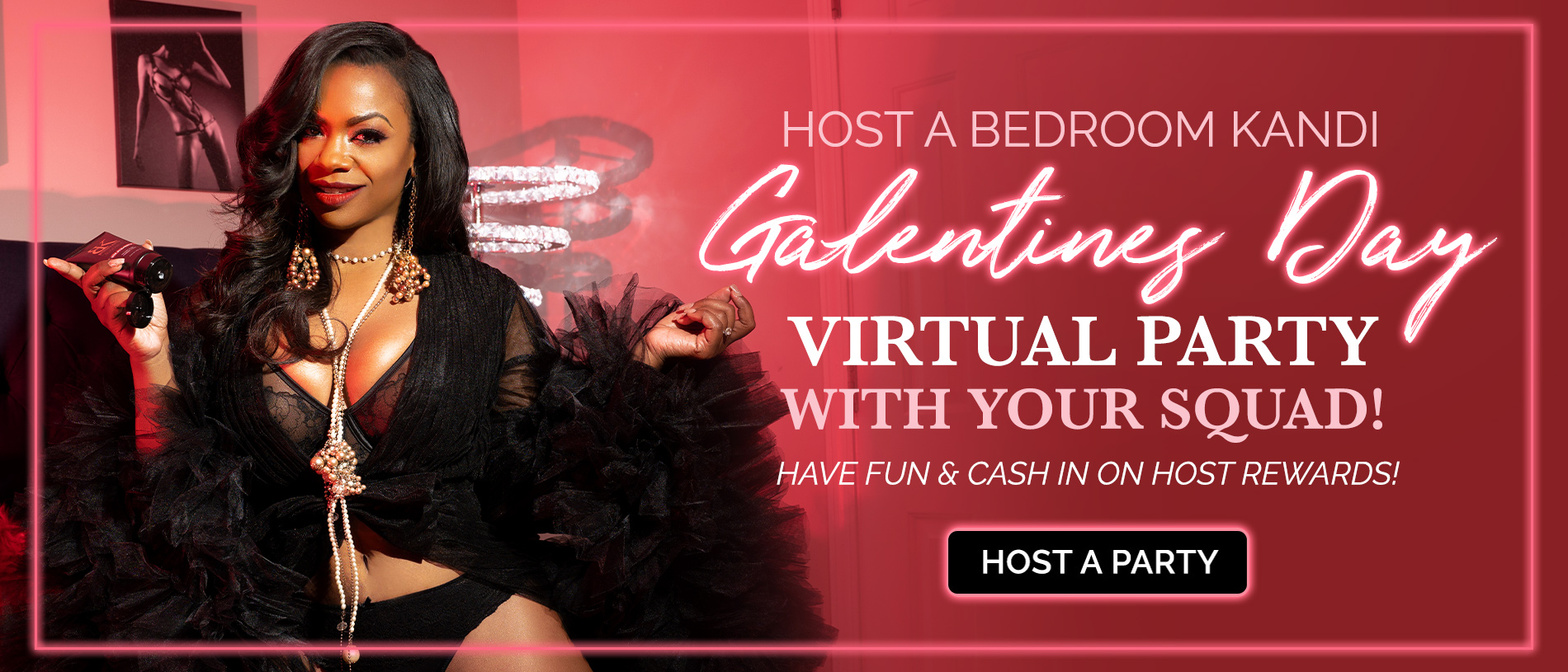 Host a Virtual Valentine's Party!