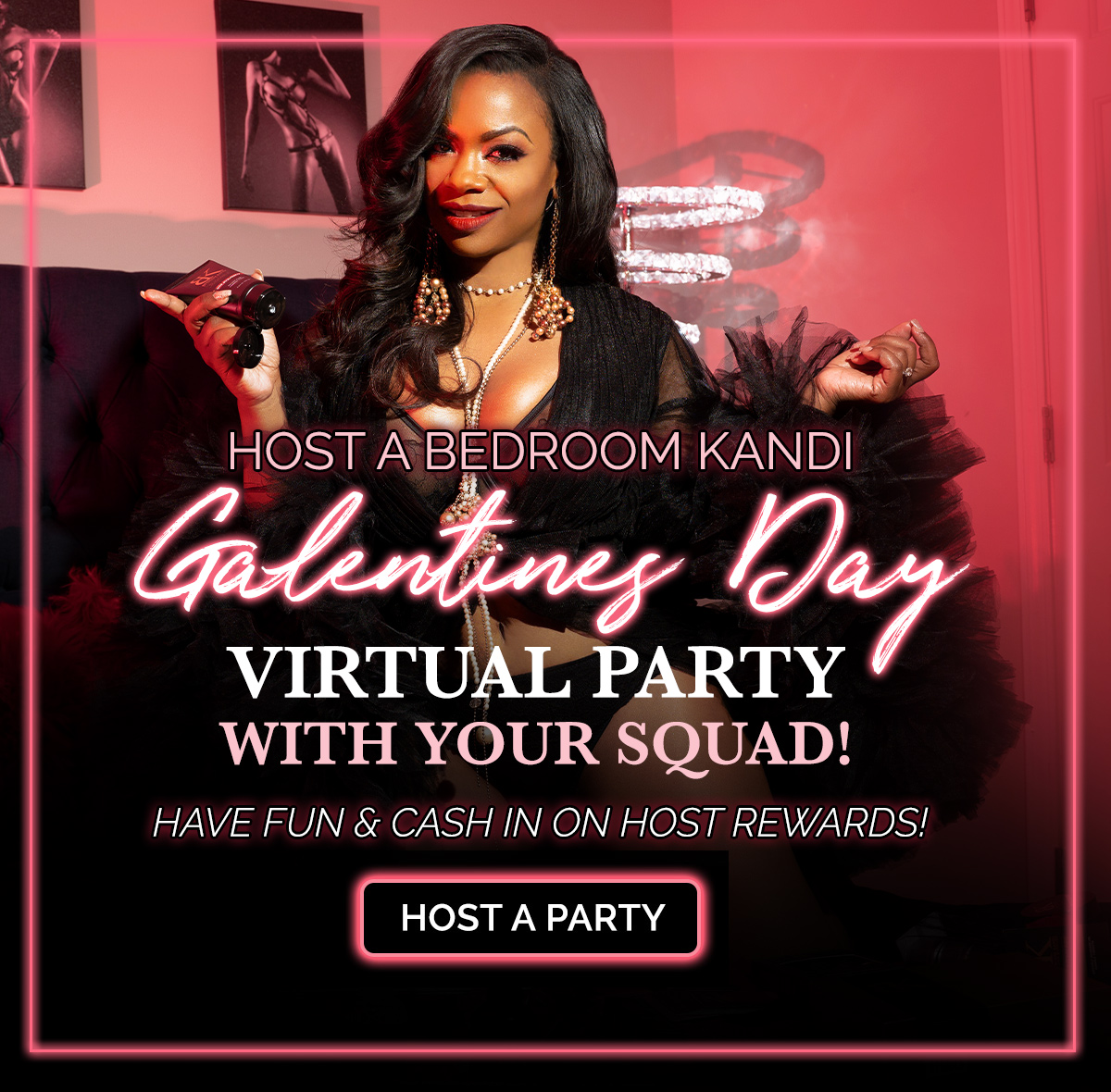 Party with Bedroom Kandi from Home This Valentine's Day