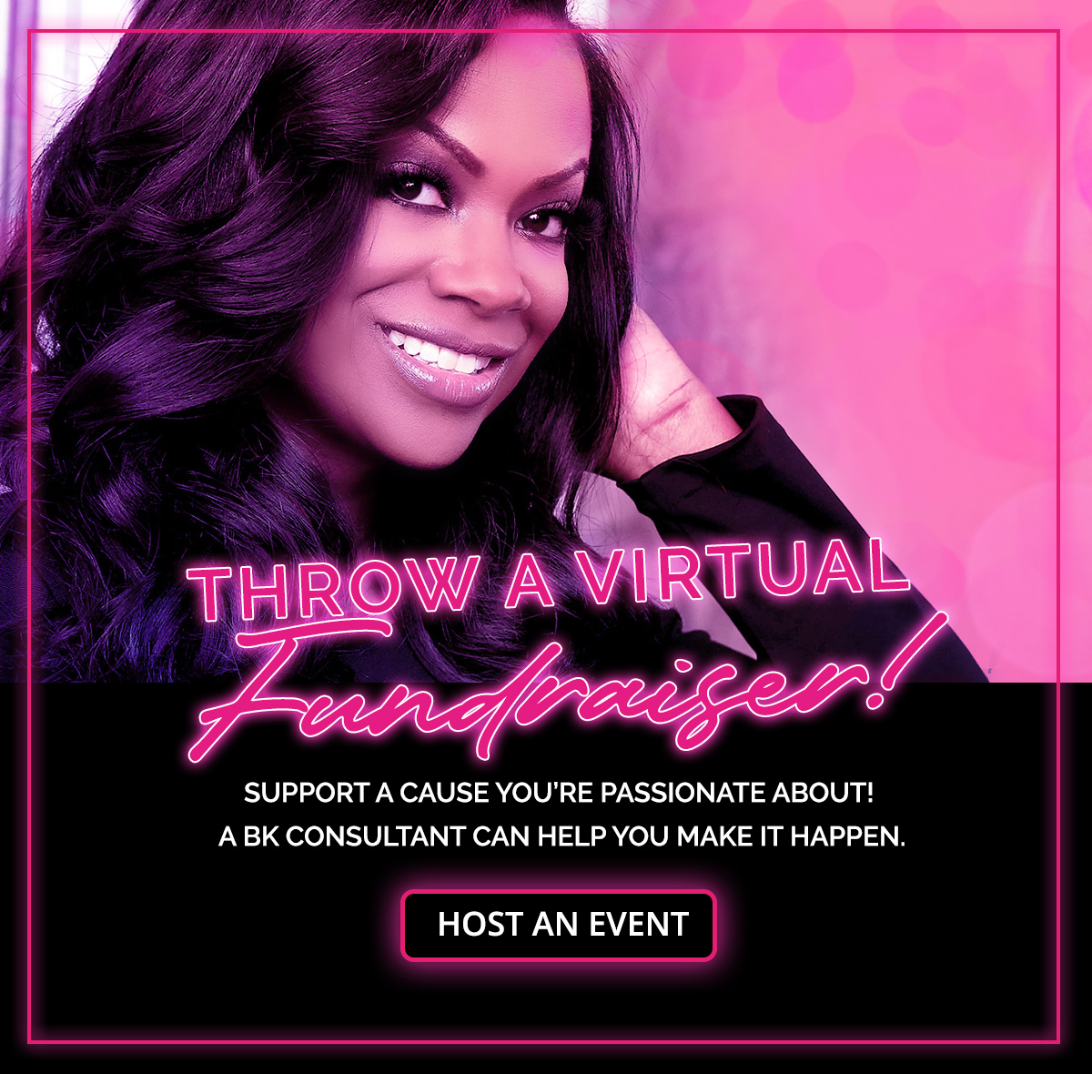 Host a Bedroom Kandi Virtual Fundraising Event