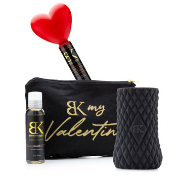Image of the products in the His Love Language gift set on a white background