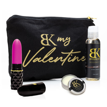 An image of the products contained in the My Valentine gift set
